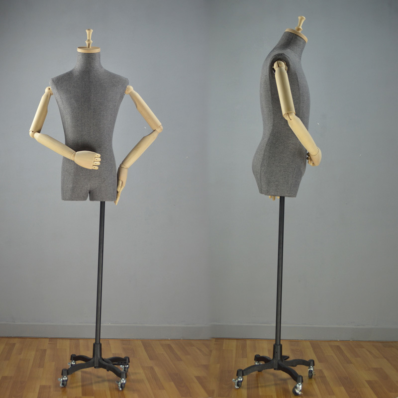 Vintage Male Torso Mannequin for Shop Display
