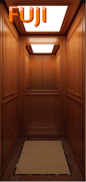 Villa Elevator / Lift with Wood Grain Car Wall