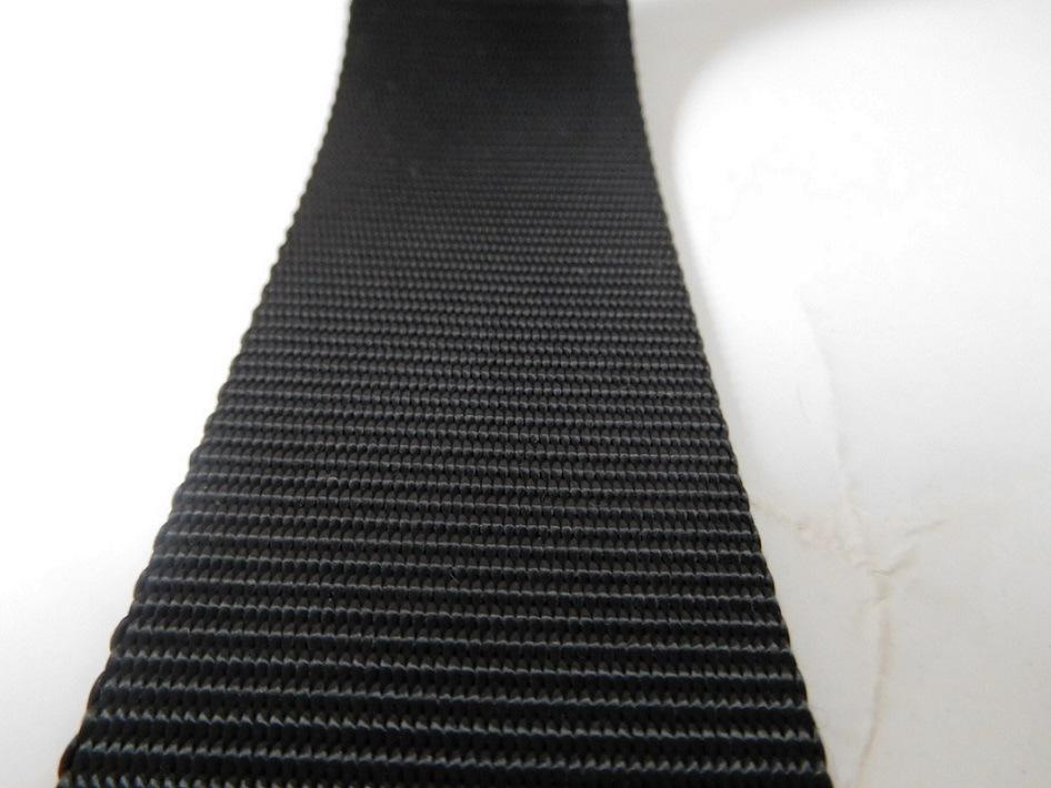 45mm Black Polyester Webbing for Car Safety Belt