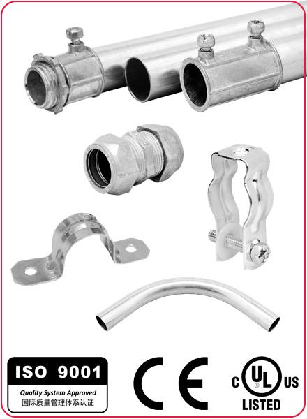 Zinc Squeeze Connector Straight Type for Flexible Conduit/Hose