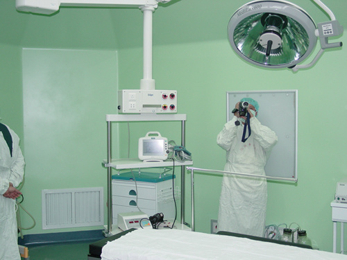 Medical Surgery Operating Room Used in Hospital