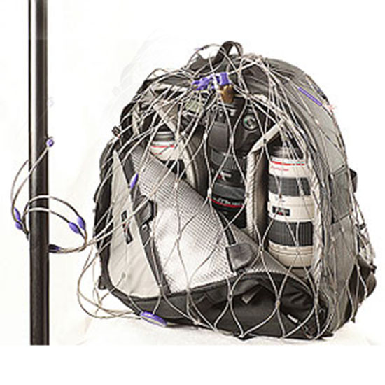 Stainless Steel Mesh Bag Metal Backpack