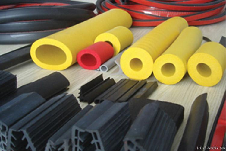 Customized High Performance Flex Durable Silicone Rubber Extrusion