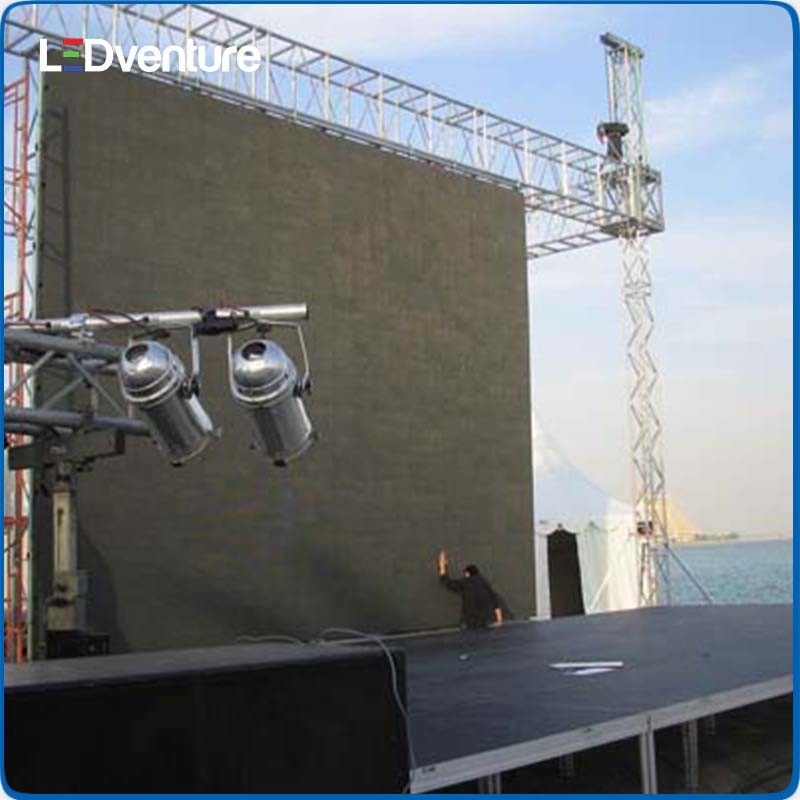Outdoor Full Color Festival Rental LED Video Screen