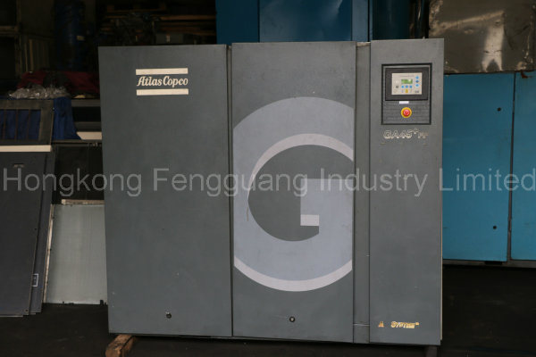 Atlas Copco Oil Injected Screw Air Compressor (GA37VSD, GA45, GA45FF, GA55, GA55FF)