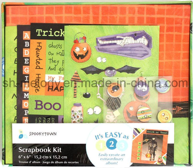 "Unique DIY Paper Crafts 6""X6"" Scrapbook Kit"