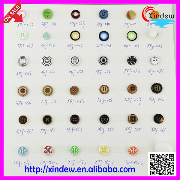 Plastic Garment Button