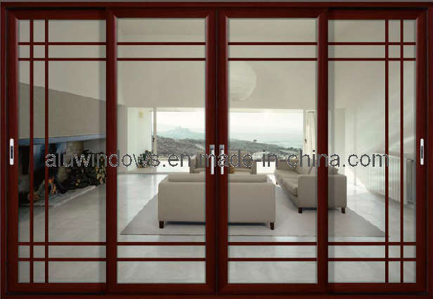 Aluminium frame glass door price for Aluminum sliding glass doors price