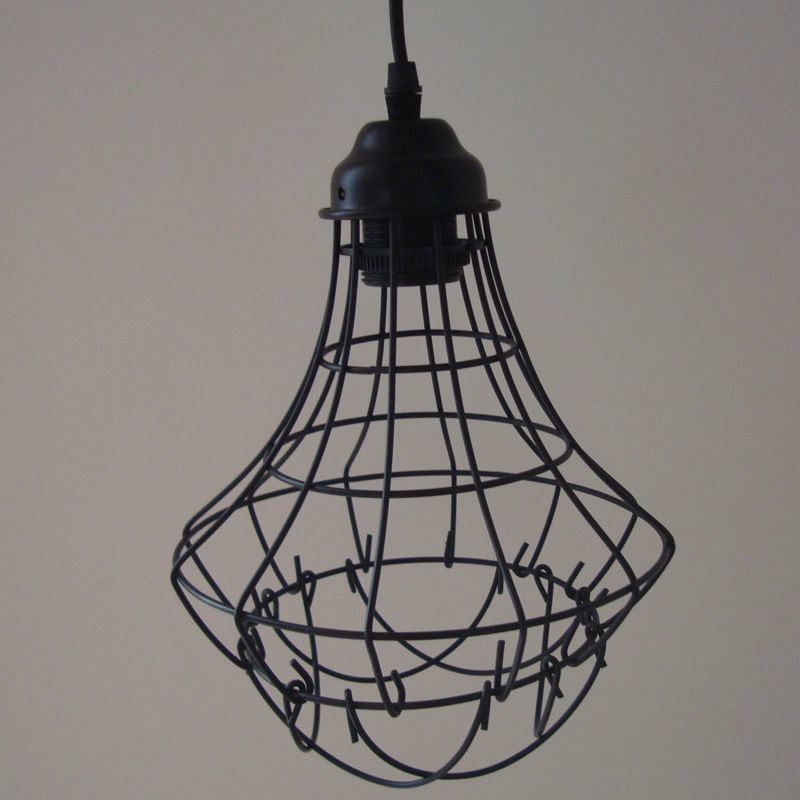 Antique Vintage Shades E27 E26 Light Bulb Fixture/Fitting Hanging Bird Cage (BYW)