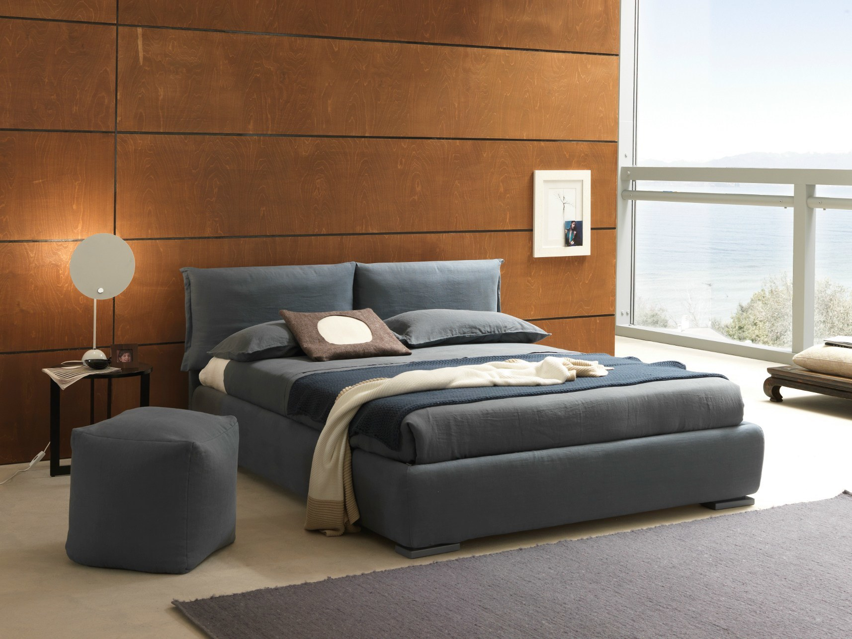 Nordic Simple Nordic Cloth Art Bed Home Furniture