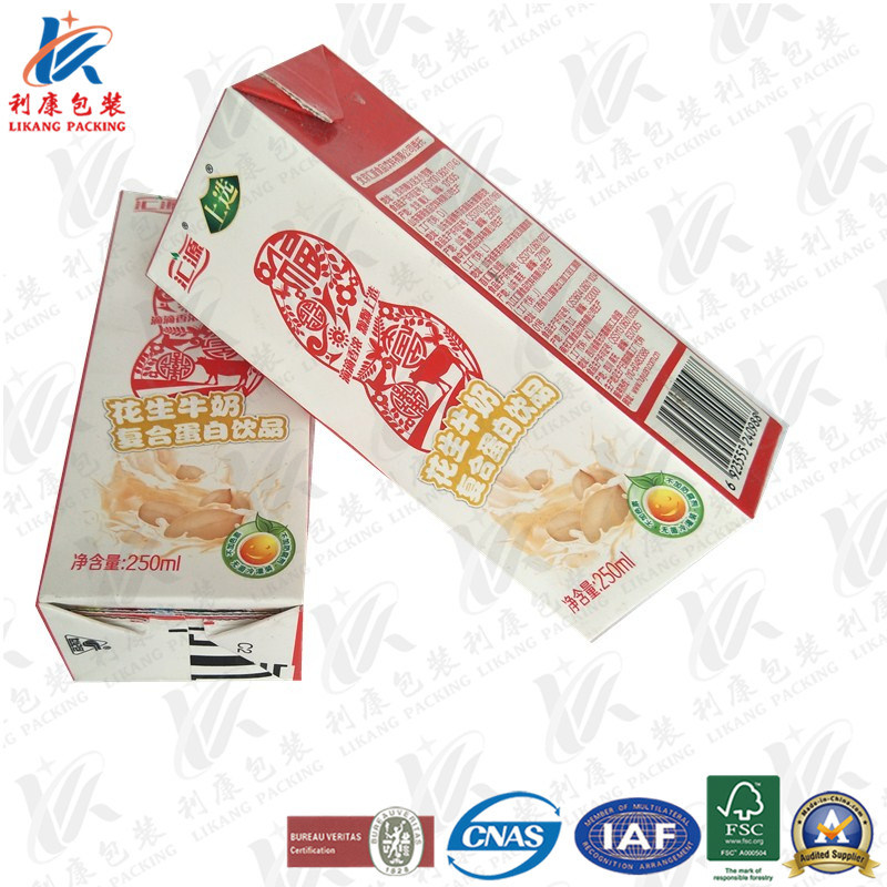 Aseptic Brick Carton for Milk and Juice