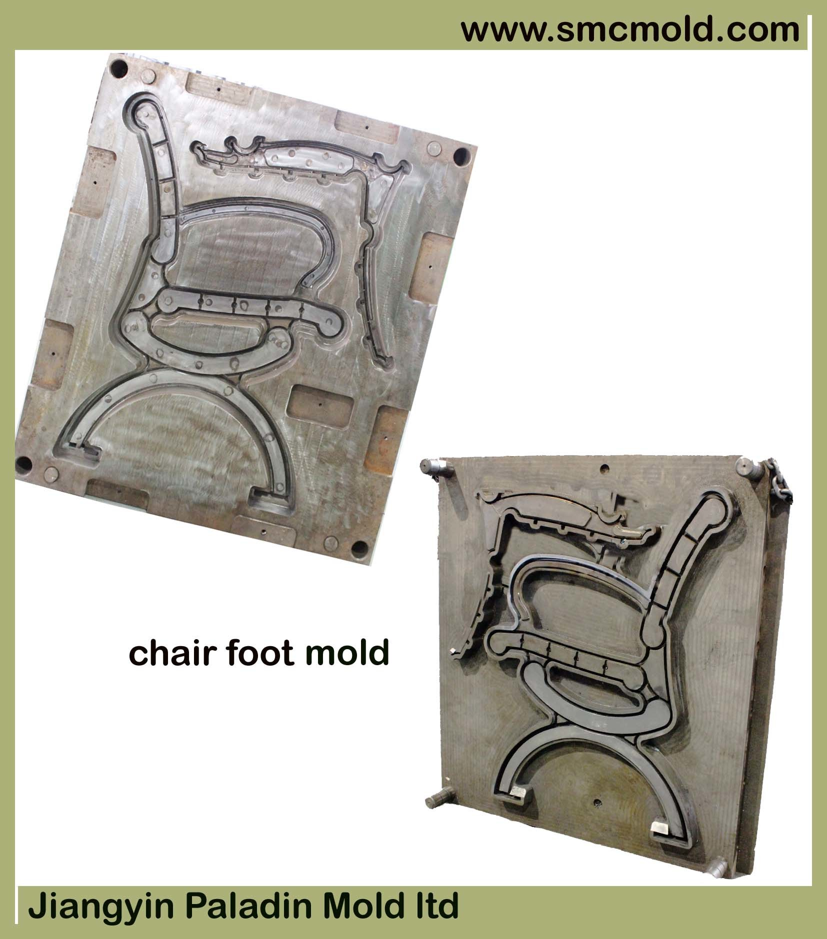 Mold for Parden Chair Foot