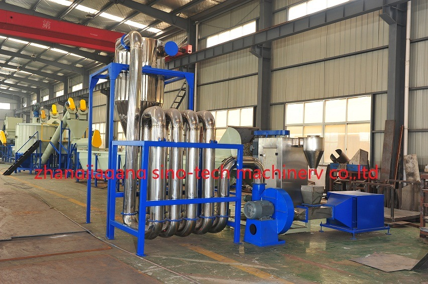Plastic Pet Bottle Flakes Recycling Line/Washing Machine