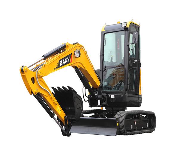Sany Sy35 Brand New Mini Crawler Excavator