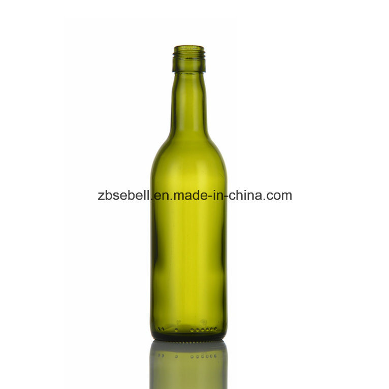 375ml, 187ml Bvs Top Bordeaux Glass Wine Bottle