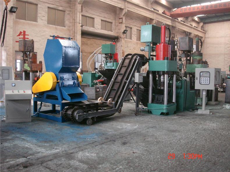 Scrap Crusher Steel Scrap Shreding Machine Lxp500