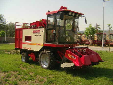 Mini Corn Combine Harvest Machine