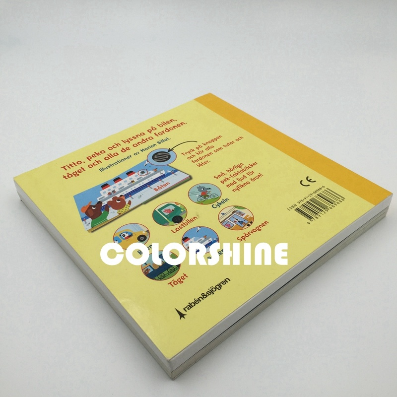 Colorful Child Speaking Sound Board Book