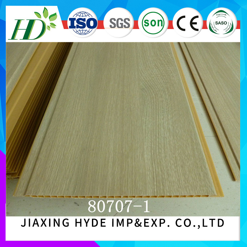 Hot Stamping PVC Ceiling Panel Wall Panel Decoration Waterproof Material