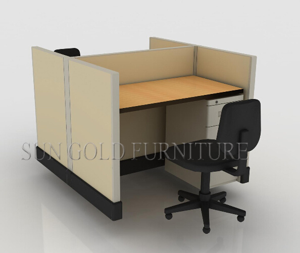 Modern 2 Person Office Workstation Office Furniture (sz Ws146)