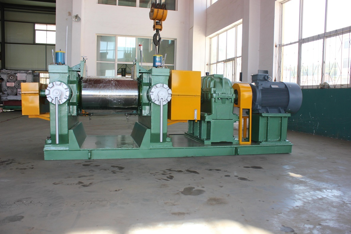Reclaimed Rubber Machine