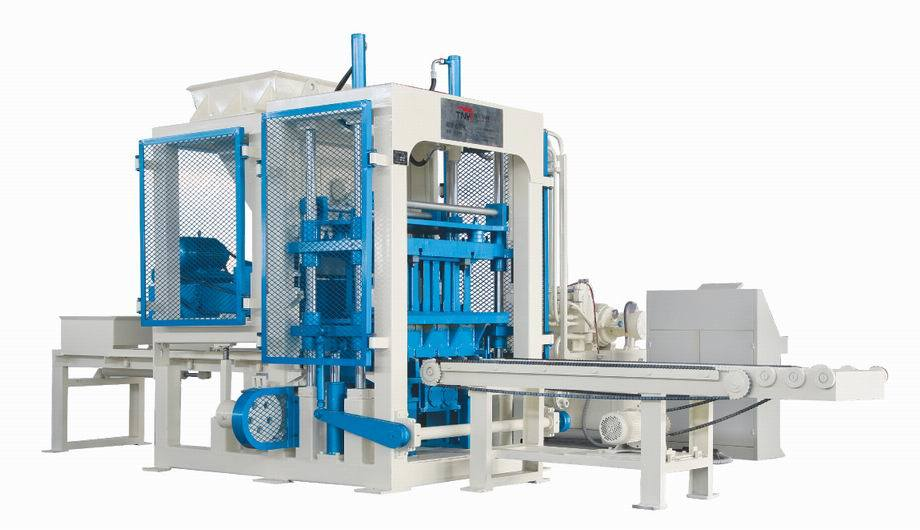 Fully Automatic Concrete Block Making Machine / Block Machine (QT4-15) Block Making Machine