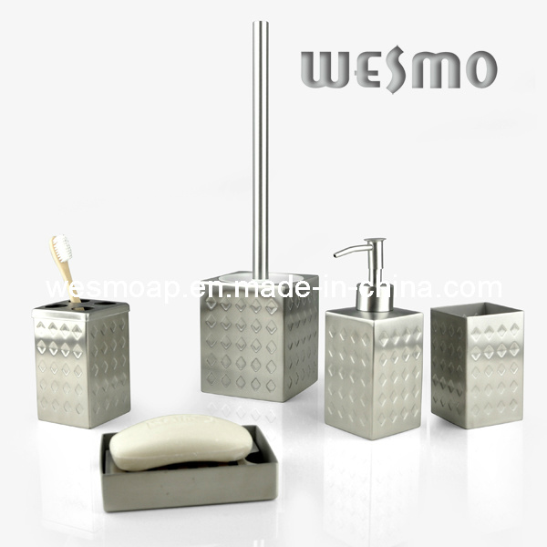 Matt Finish Stainless Steel Bath Set (WBS0629A)