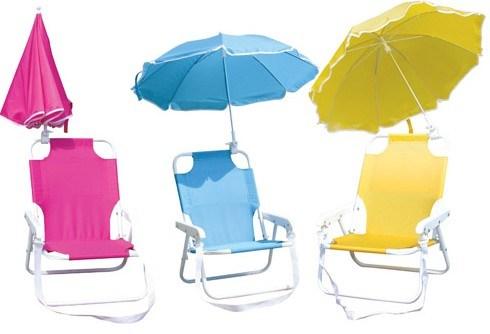 Beach Umbrella with Chair (BR-BU-36)