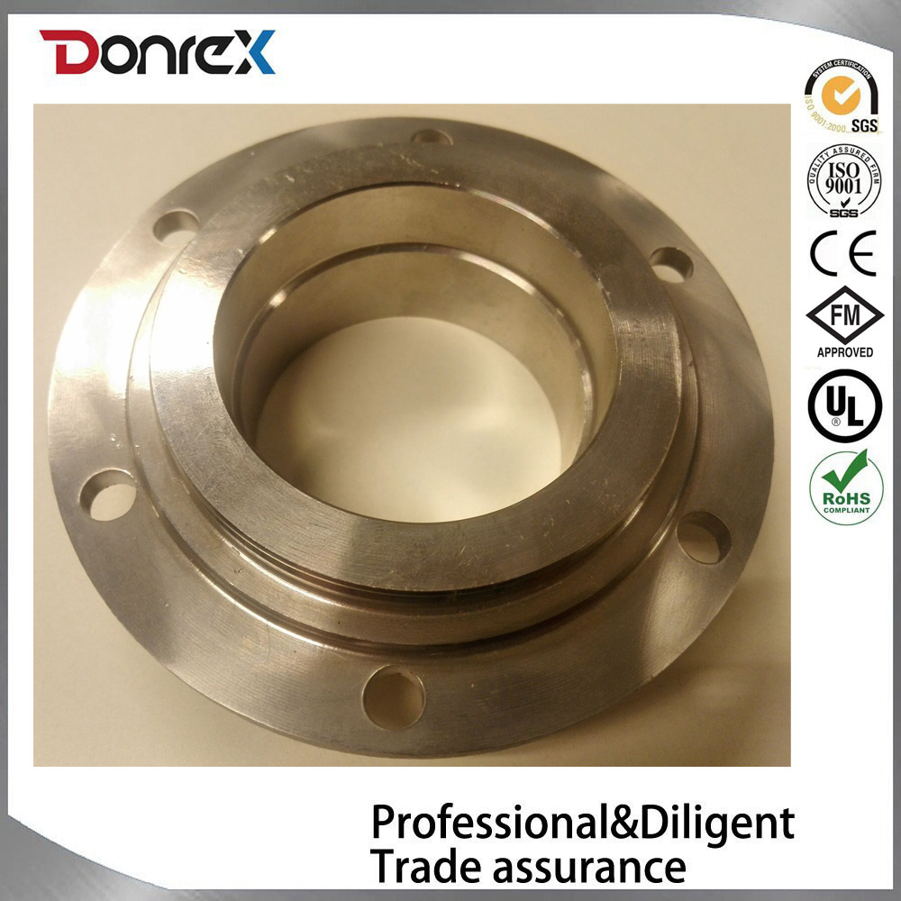 Customzied Aluminum Alloy Die Casting and Machining Flange