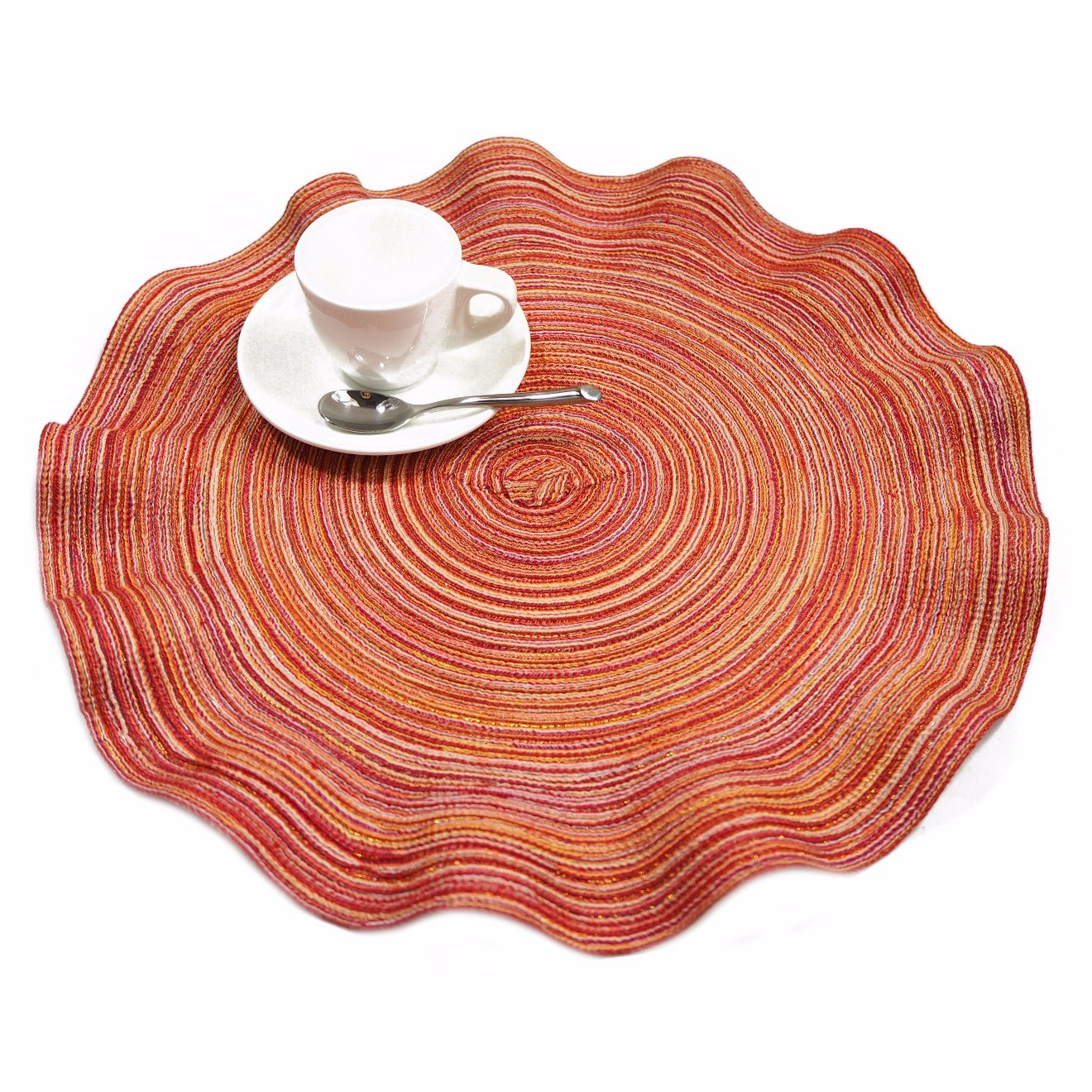 Wave 100% PP Woven Placemat for Tabletop & Kitchen