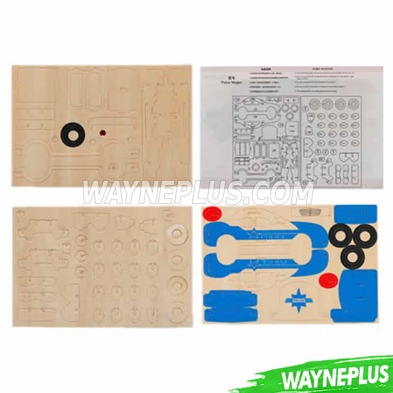 Wooden Stamp Set, Non-Toxic DIY Kids Stamps, Colorful Toy Stamp