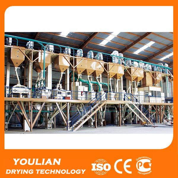 Customerized Drum Pre-Cleaner for Rice Mill