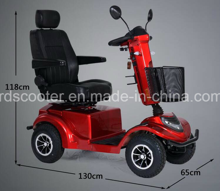 4 Wheel Scooter Mobility Scooter for Handicapped