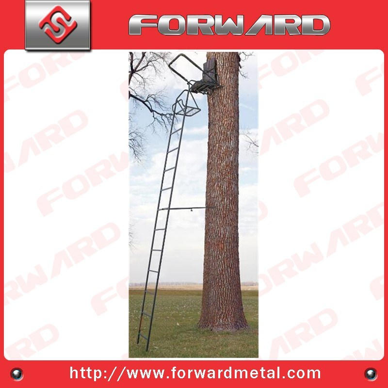 16′ Ladder Stand or 20′ High Seat or Deer Stand or Hunting Equipment with Shooting Rail