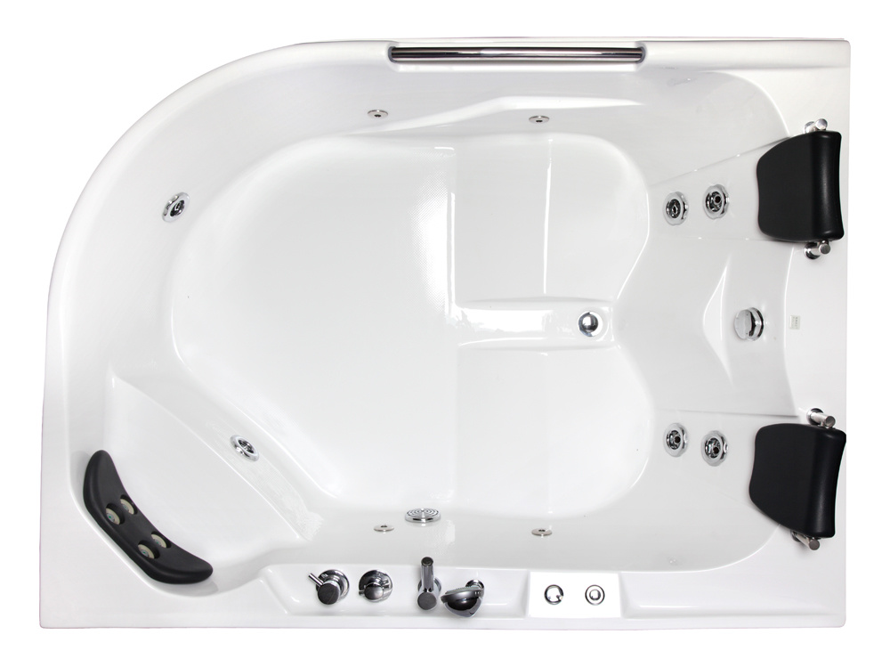 Double Luxurious Leisure Whirlpool SPA Bathtub (M-2023 R/L)