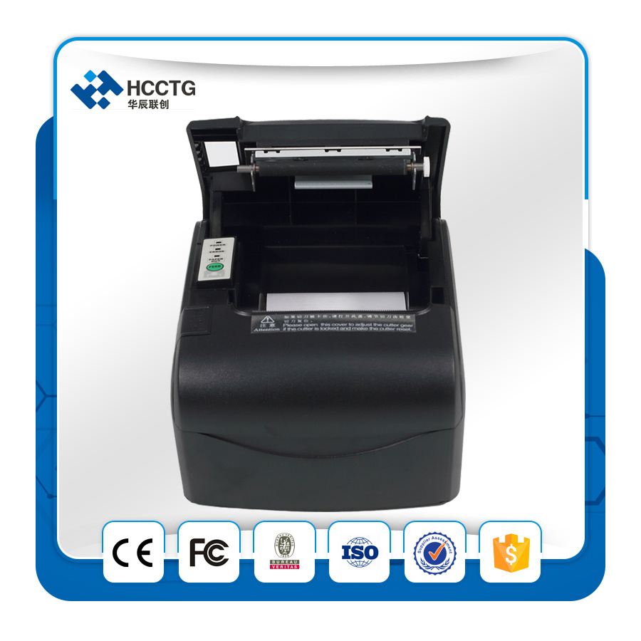 USB+LAN+WiFi Optional Bill POS Receipt Thermal Printer (POS88VI)