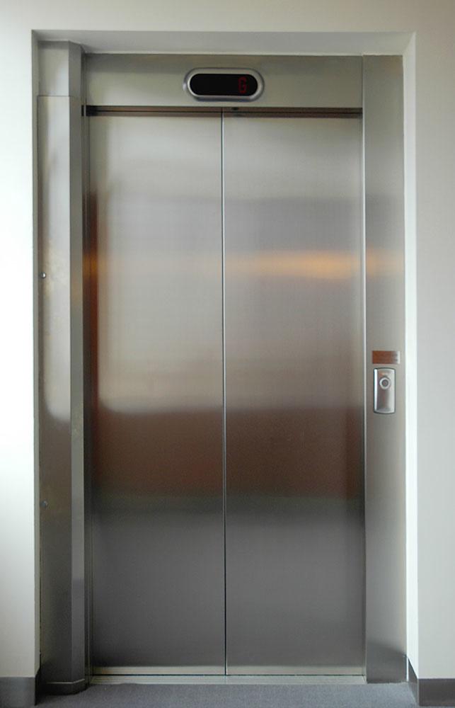 Classic Style Gray Passenger Elevator / Lift