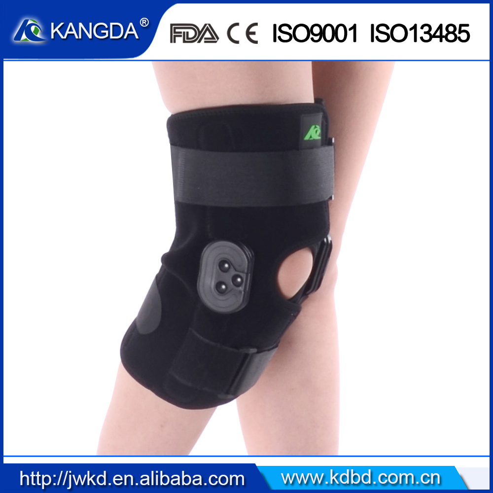 FDA Ce Certificated Knee Brace ROM Knee Support for Pain Relief and Patella Stabilizer