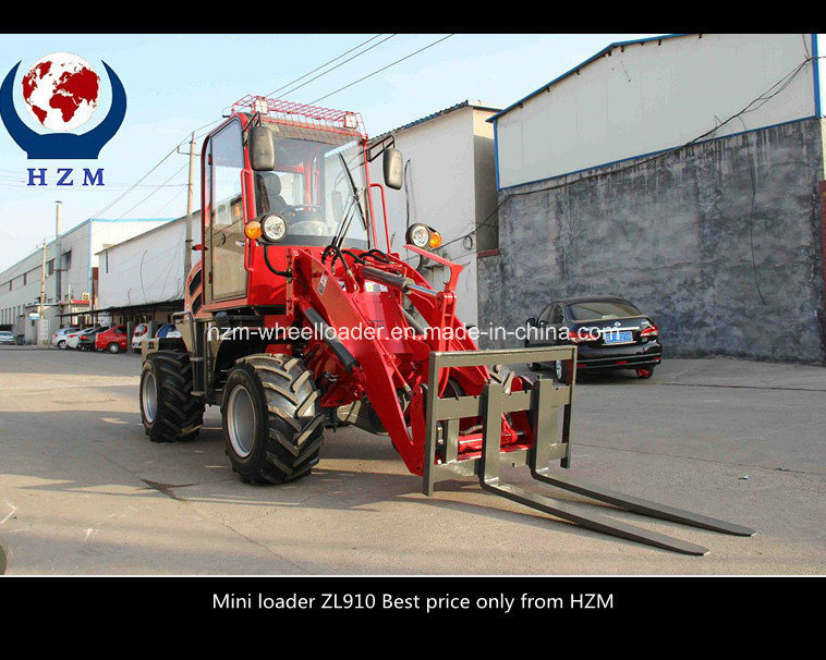 Best Offer Top Quality Zl910 Europe Design Mini Wheel Loader