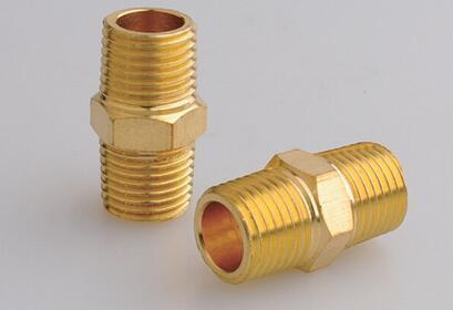 Coupling Brass NPT Pipe Hose Nipple