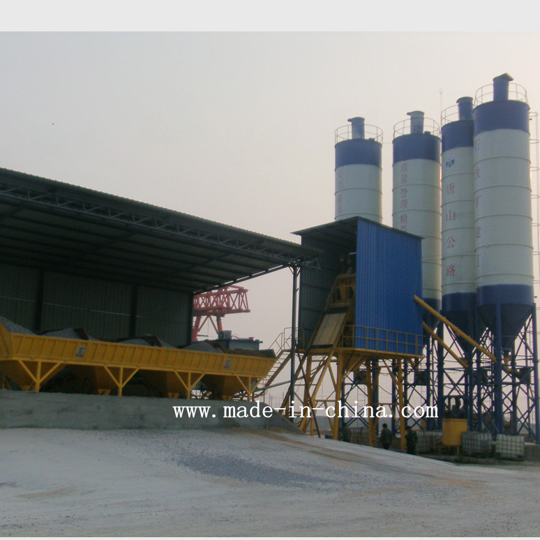 75m3/H Full Automatic Concrete Batching / Mixing Plant