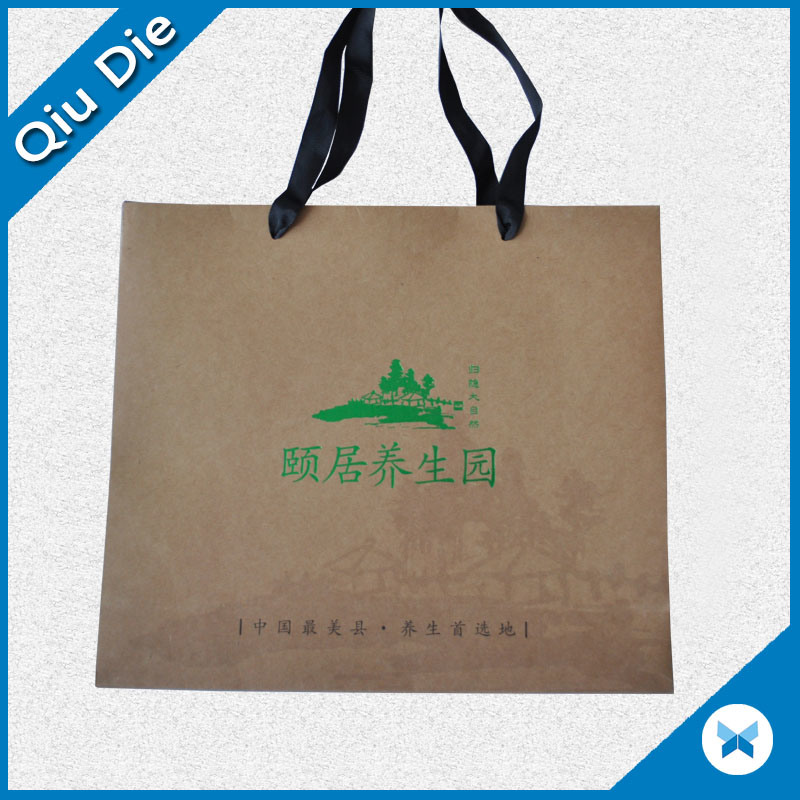 Manufacturer Big Size Brown Craft Paper Bag / Shopping Bags