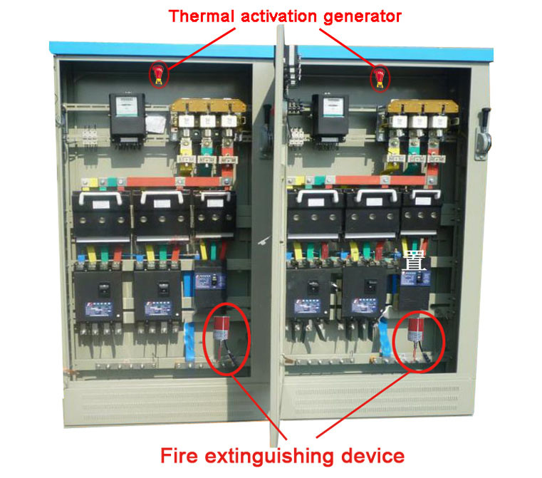 Small Aerosol Fire Extinguishing Device