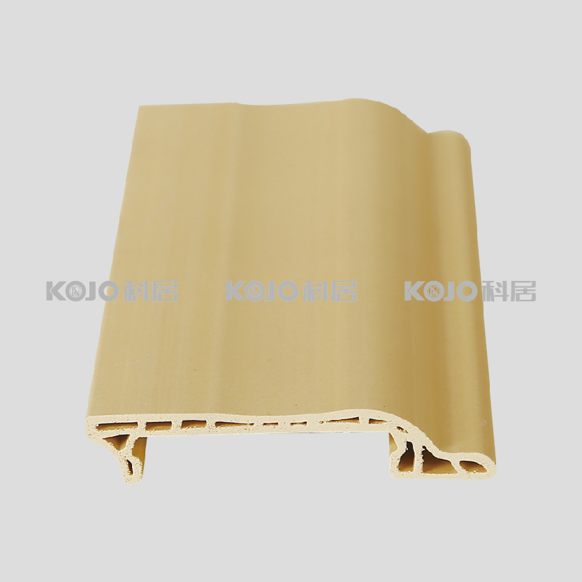 Flooring Accesorries Waterproof Easily Installed WPC Floor Skirting (PT-7515A)
