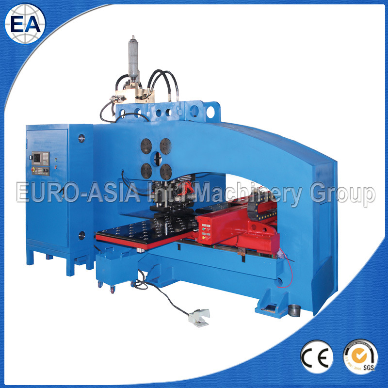 O-Type CNC Hydraulic Thick Plate Punch Press