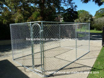 Small Square Dog Kennel Runs & Enclosures