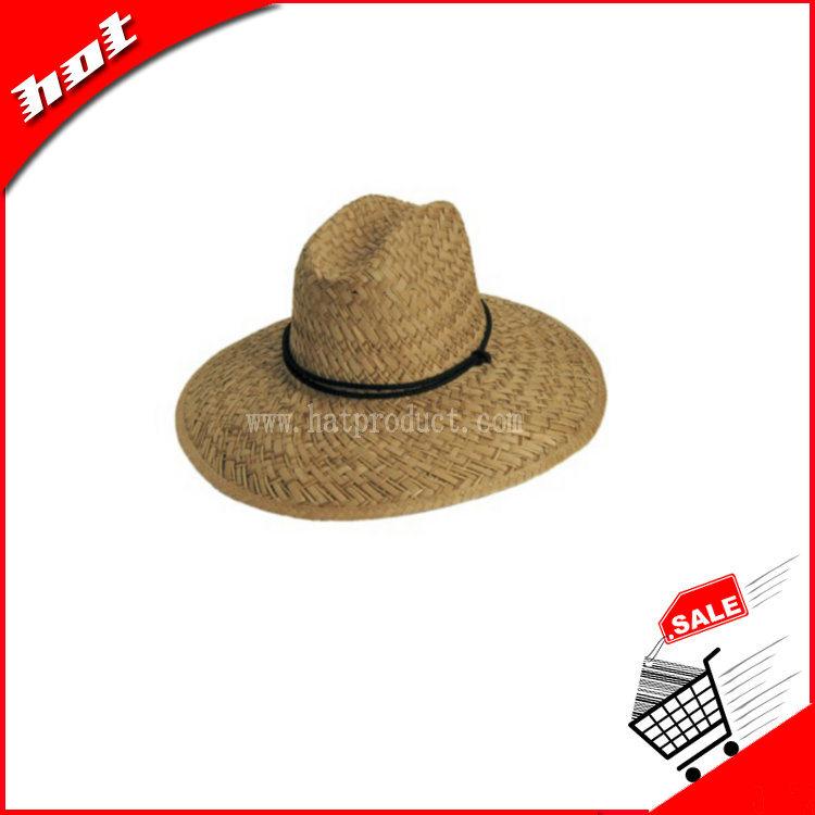 Rush Straw Hat Hollow Straw Hat Handmade Straw Hat