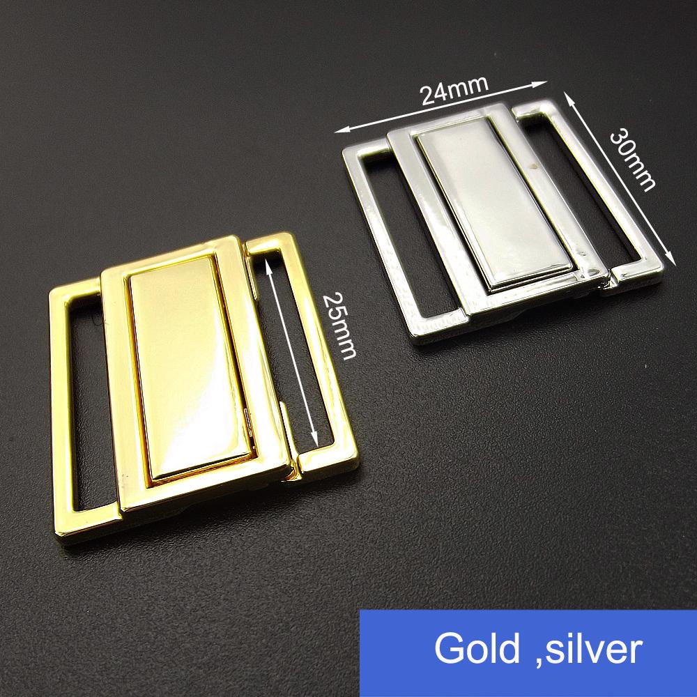 10mm Underwear Shining Gold Buckle Clip