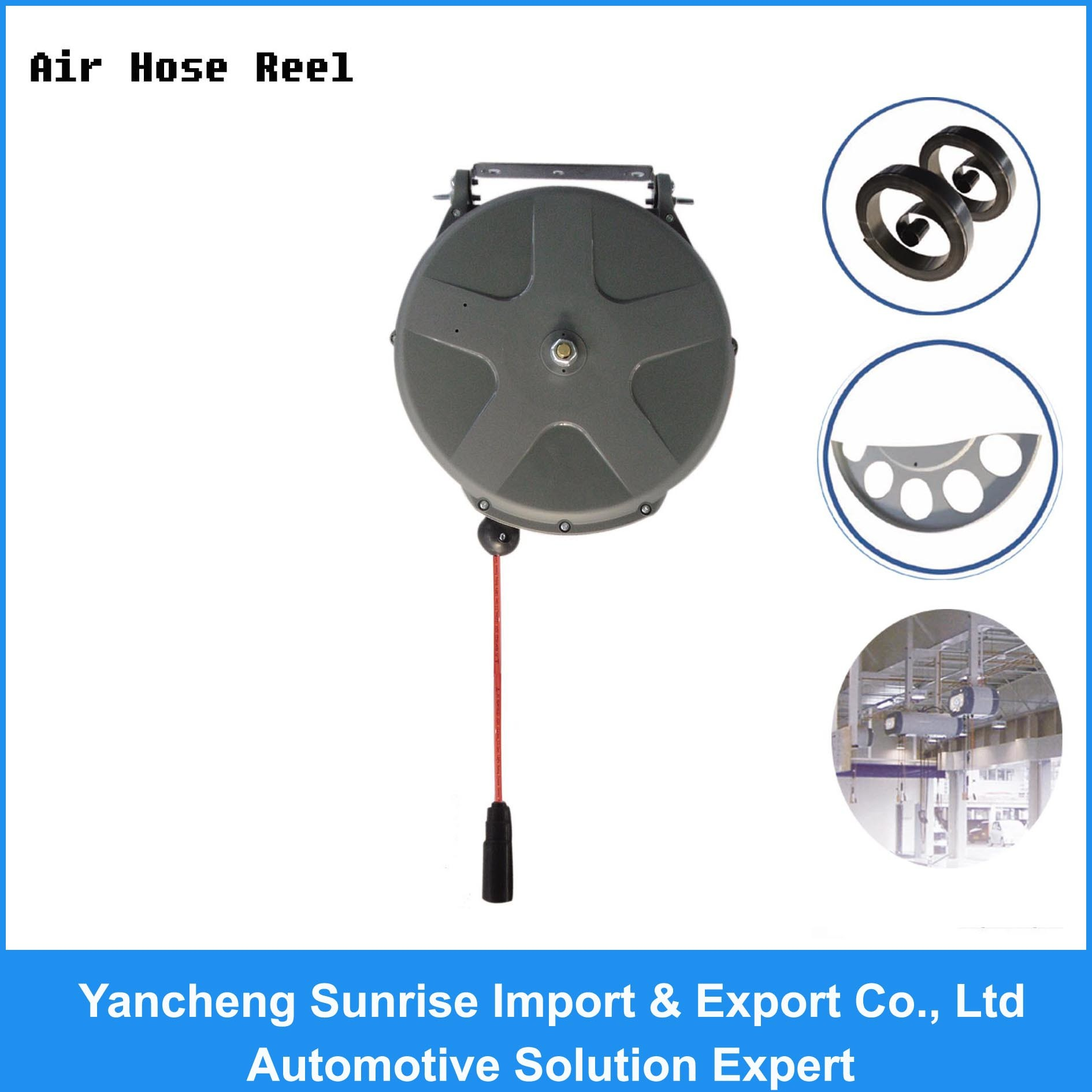 2017 New Type of Air Hose Reel (THR-2810)