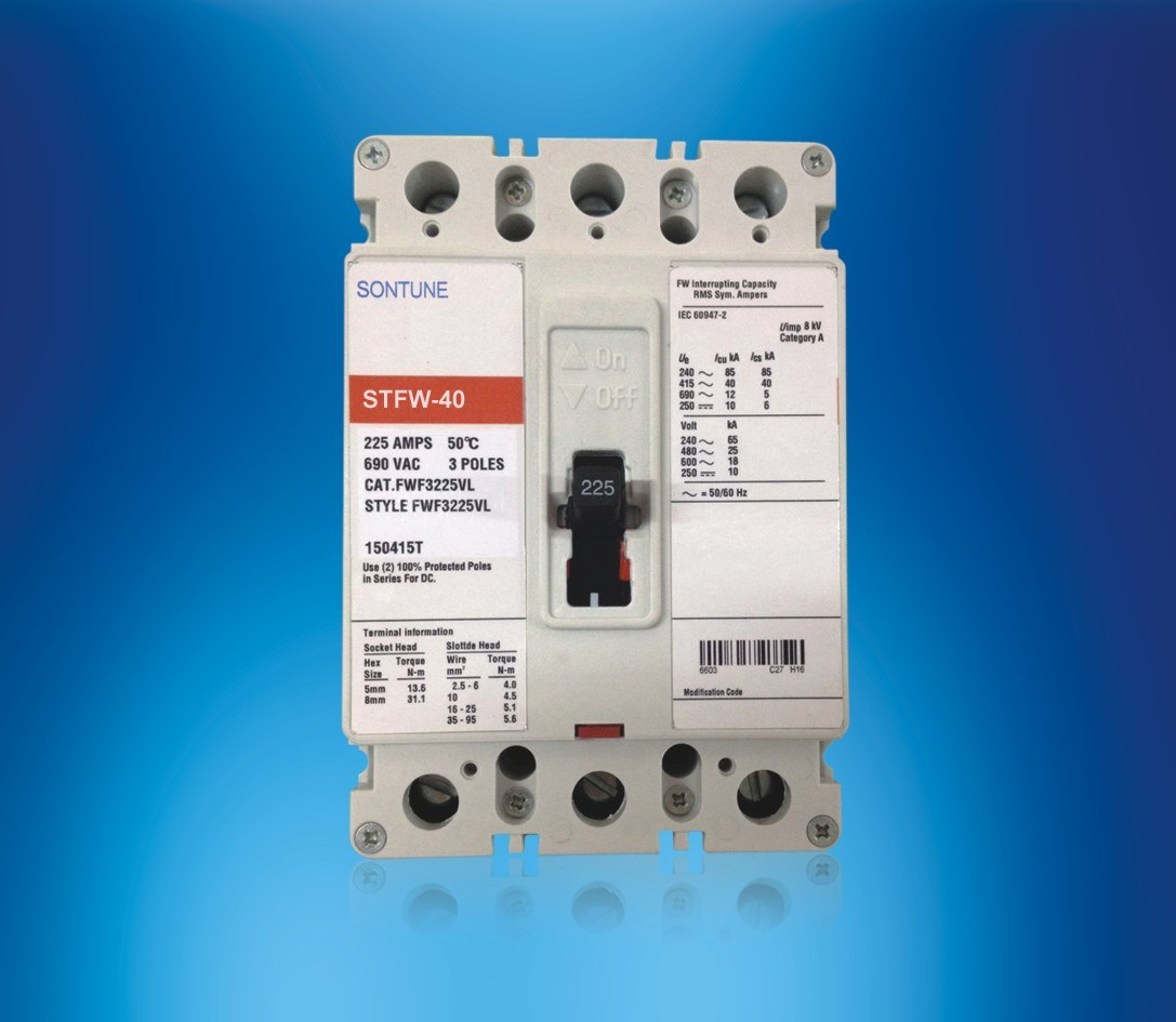 Sontune Stfw-40 (ST225) Moulded Case Circuit Breaker